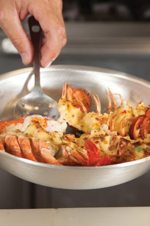 Lobster Thermidor. #seafood #recipes