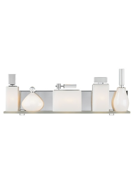 Perfume vanity light fixture from lbl