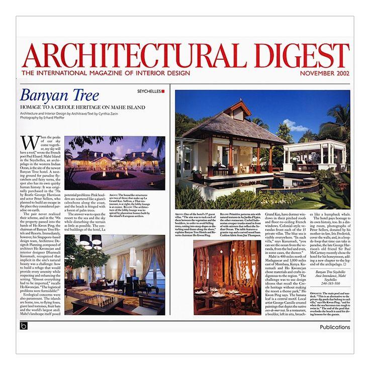 BOX LIVING | ARCHITECTURAL DIGEST Magazine November 2012 - For more detailed information please visit our website www.boxliving.com.sg