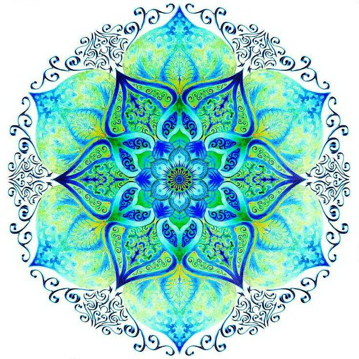 1000 images about colorful mandala on pinterest mandala