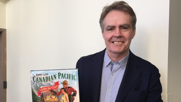 Author Barry Lane has written a book on the Golden Age of Travel in Canada.