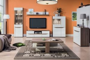 LIONEL BOGFRAN Living room. This set is for people who looking for tasteful and elegant furniture, because it has successful combination of attractive and elegant design with modern colours. Polish Bogfran Modern Furniture Store in London, United Kingdom #furniture #polish #bogfran #livingroom
