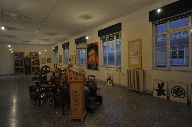 Άποψη εγκατάστασης Φωτογράφιση Δημήτρης Καλαποδάς