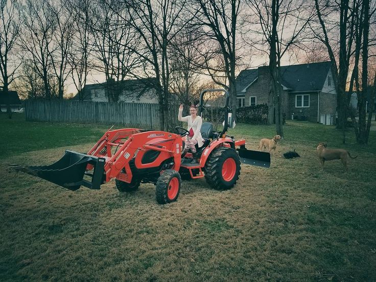 For anyone thinking about a tractor I thought I would share our thoughts on why we decided to purchase a Kioti CK2610 tractor vs. a dedicated truck plow skid steer etc.  1. Dealer support for the Kioti is unmatched. 2. Amazing warranty. 3. Built like a tank and weighs almost 1K more than a Kubota in the same class. 4. A lot cheaper to get into than a skid steer and attachments cost a lot less. 5. It's like a Swiss army knife for what we need it to do. 6. Couldn't justify a dedicated truck…