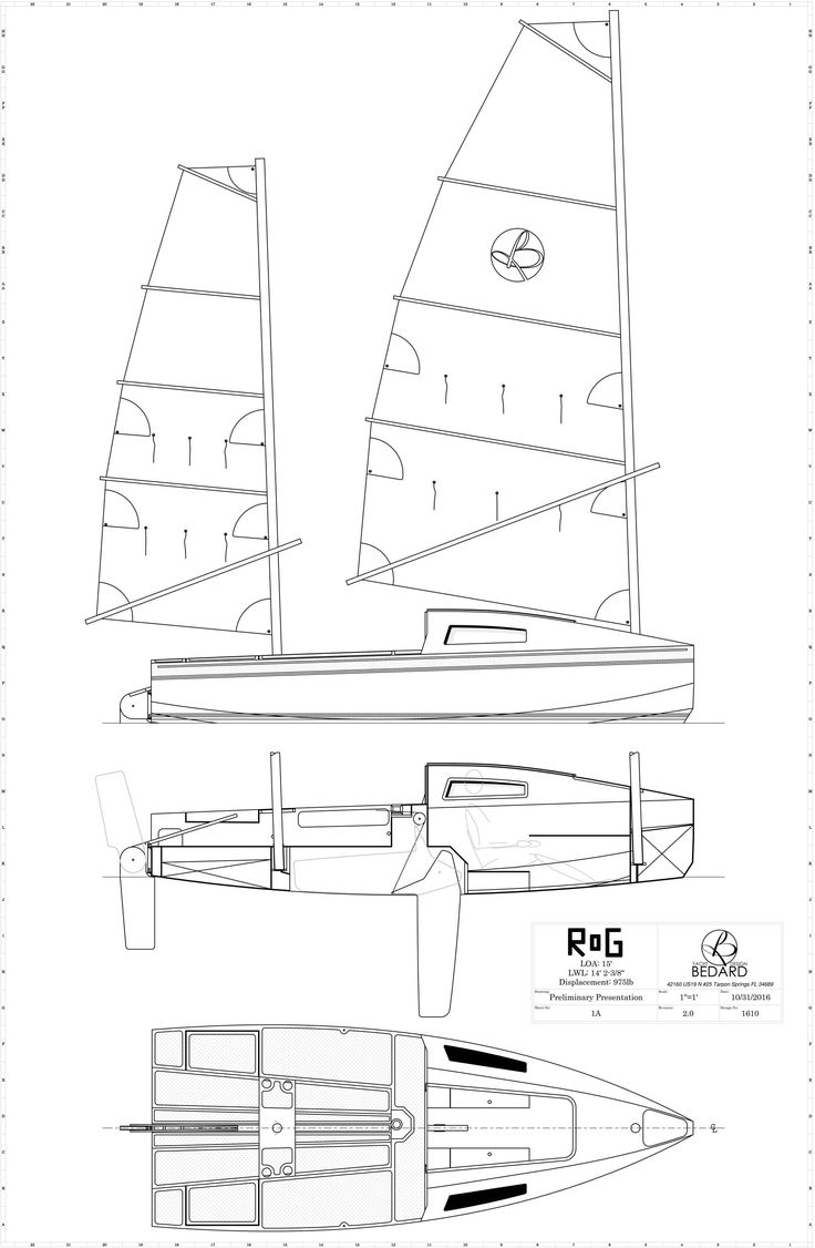 17 best images about boat drawings sailboat plans 15 rog micro cruiser bedard yacht design