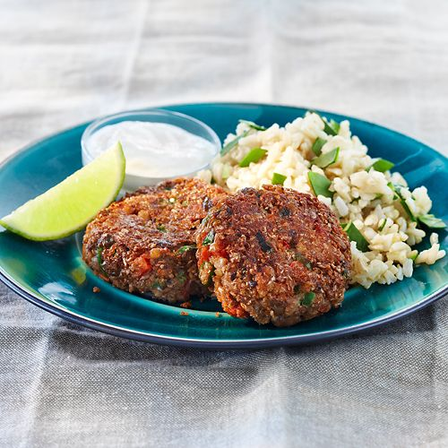 Black-Eyed Pea  Onion Fritters from Clean eating, not sure what a fritter is, but sounds good!