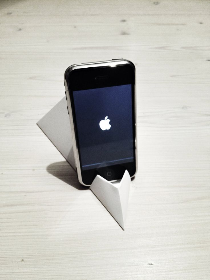How to Make Origami Paper iPhone FaceTime & Video Stand