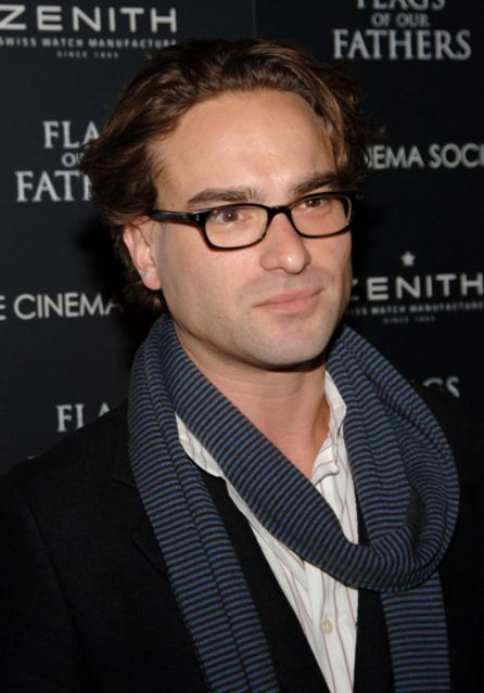 Johnny Galecki, nerd charming