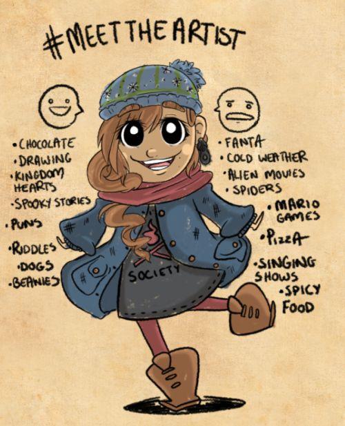 sketch dailies theme is Meettheartist!