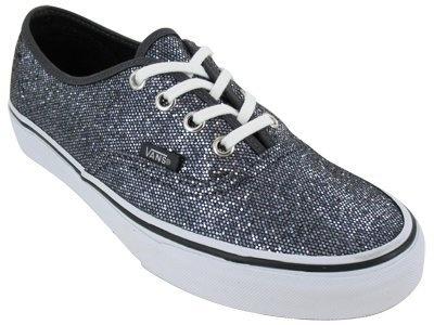 sparkly vans. <3