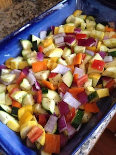 Roasted summer vegetables, Vegetables and Goat cheese on Pinterest