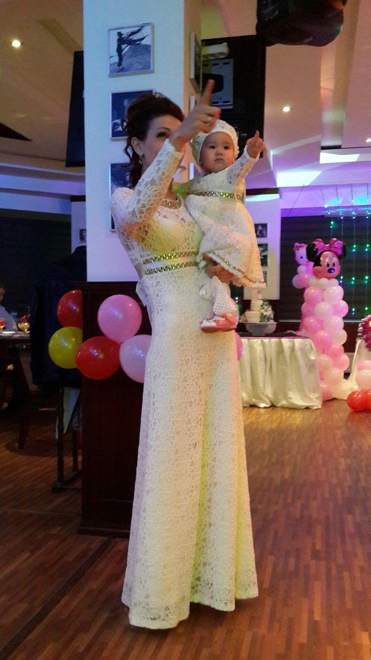 Платья мамы и дочки