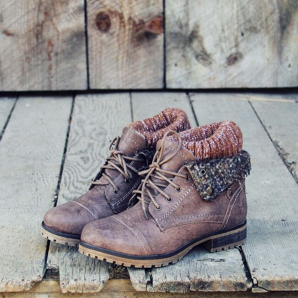 The Nor'wester Boots, Sweet & Rugged boots from Spool No.72
