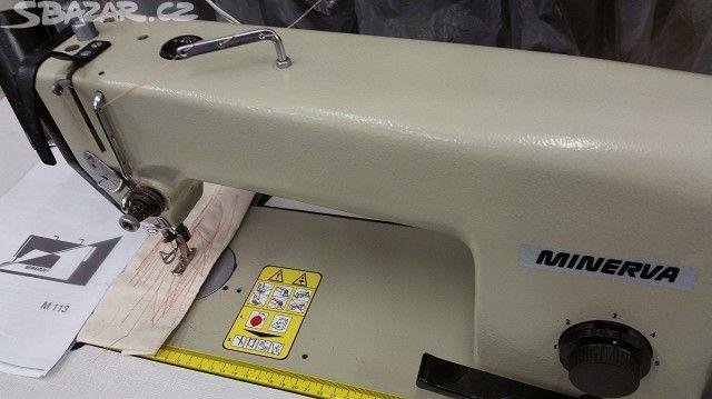 Šicí stroj MINERVA M 113 . Průmyslový - obrázek číslo 8