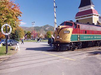 Conway Scenic Railroad, North Conway New Hampshire