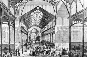 Les Halles Baltard de Paris