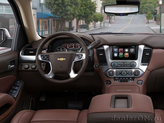 Интерьер внедороржника Шевроле Тахое 2015 / Chevrolet Tahoe 2015