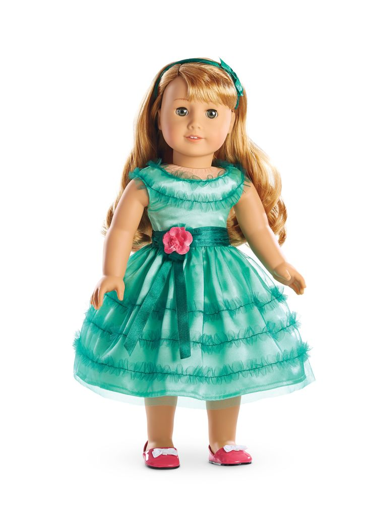 American Girl Maryellen's Birthday Dress