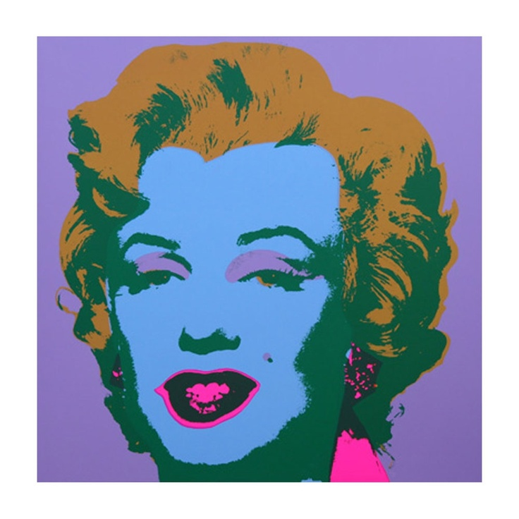 Marilyn Monroe / by Andy Warhol Warhol is a big inspiration for