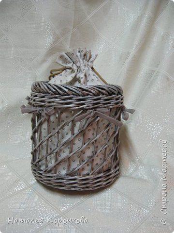 Поделка изделие Плетение Шитьё Корзинка для сушеных трав и еще кое-что Салфетки…