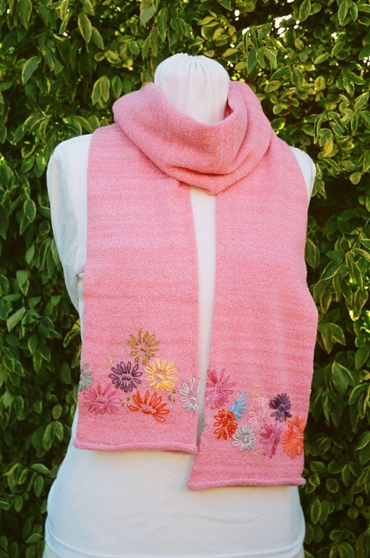 Tubular scarf knitted on the Passap E6000 machine knitting Pinterest Sc...