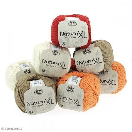Fil DMC Natura XL - 100 g http://www.creavea.com/fil-dmc-natura-xl-100-g_boutique-acheter-loisirs-creatifs_64716.html