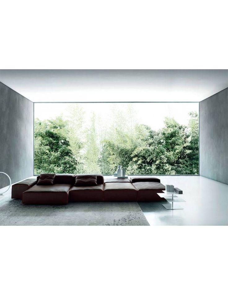 Living Divani Extra Soft bank   Van der Donk interieur