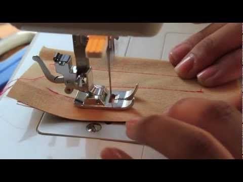 Clases de costura parte 4: Puntadas básicas y cómo hacer ojales | Manualidades