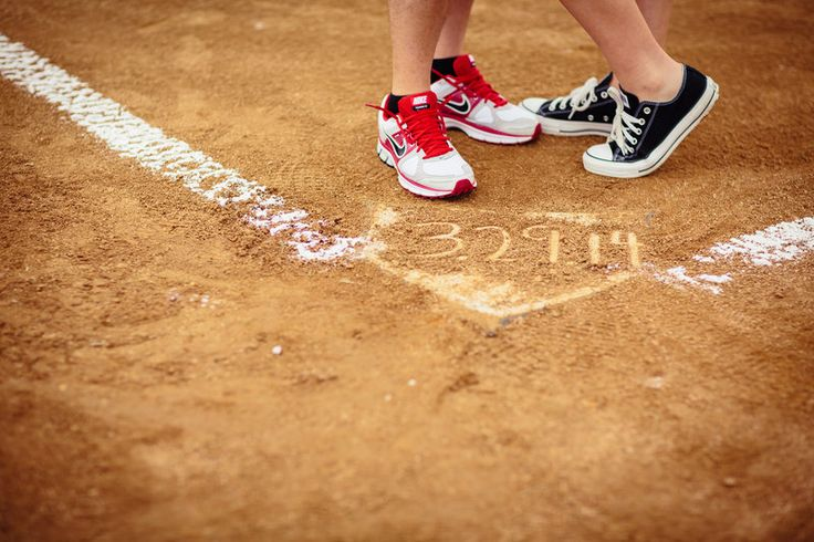 Baseball Engagement Texas Rangers Baseball Wedding Date Photos by POPography.org