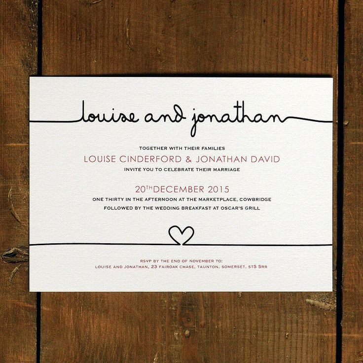 casual evening wedding invitation wording%0A Scribble Wedding Invitation  Day Evening RSVP Save the Date Whimsical  Unique