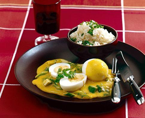 Curry-Eier Rezept - [ESSEN UND TRINKEN]