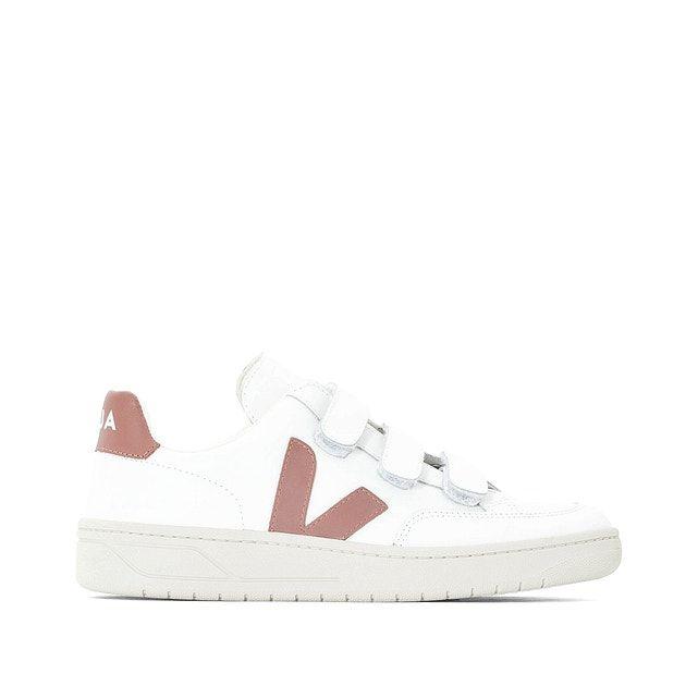 Anfibio Comunista patinar  Sneakers met klittenband v-12 velcro wit/roze Veja | La Redoute | Sneaker,  Klittenband, Boetiek