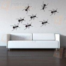 Samolepka na zeď - Mravenec