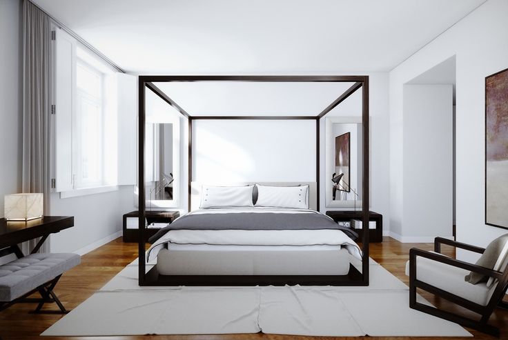 Originally for the royals, four poster beds carry a regal quality that translates across many cultures. Draped with luxurious velveteen bed fittings, they can c
