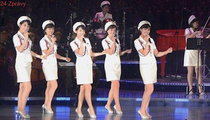 Kim Čong-un jako Rocky. Na olympiádu možná dorazí kapela Moranbong, složená z vojaček KLDR