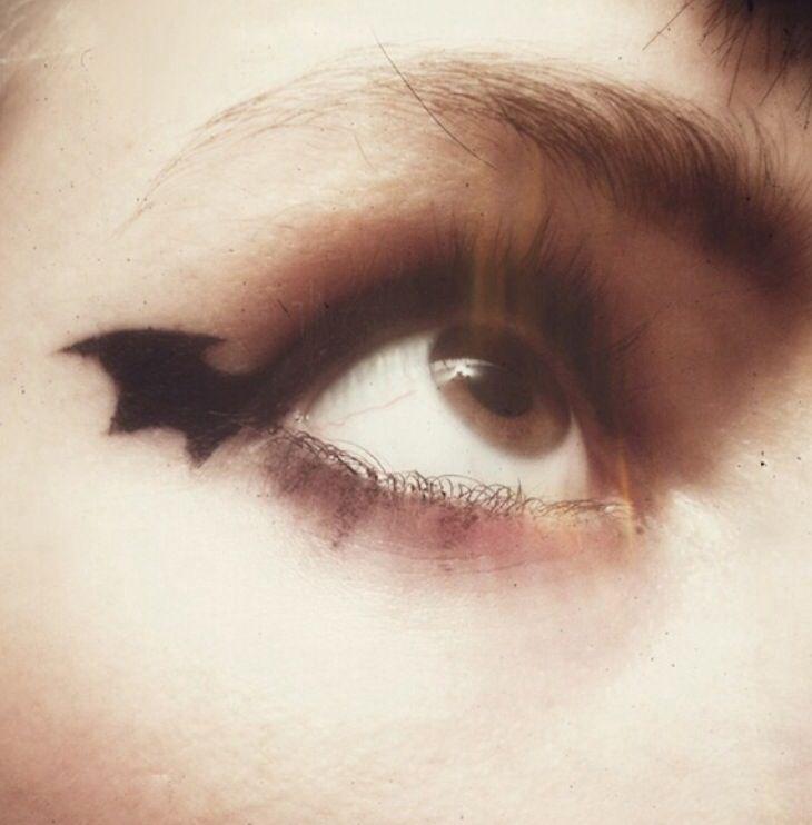 BAT eyes -- maybe for Halloween