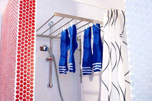 17 beste idee n over wasrek op pinterest wasruimte organisatie was en wasruimte decoraties - Doucheruimte m ...