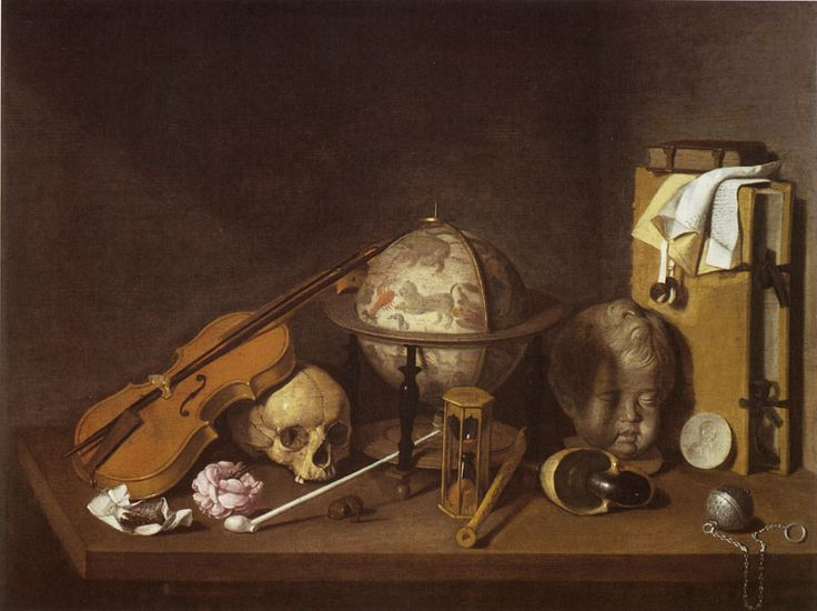 David Bailly, 1640s - - - Vanitas Still Life