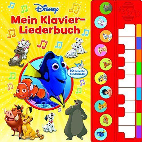 Mein Klavier Liederbuch Disney Liederbuch Mit Klaviertastatur Vor Und Nachspielfunktion 10 Beliebte Kinderl Beliebte Kinderlieder Kinder Lied Liederbuch