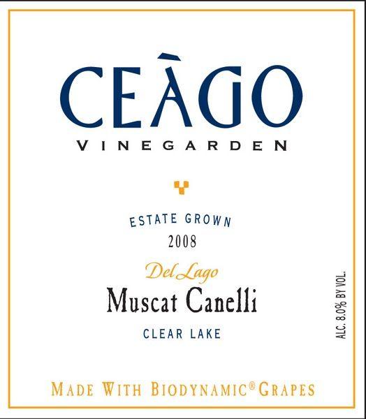 Ceago Muscat Canelli