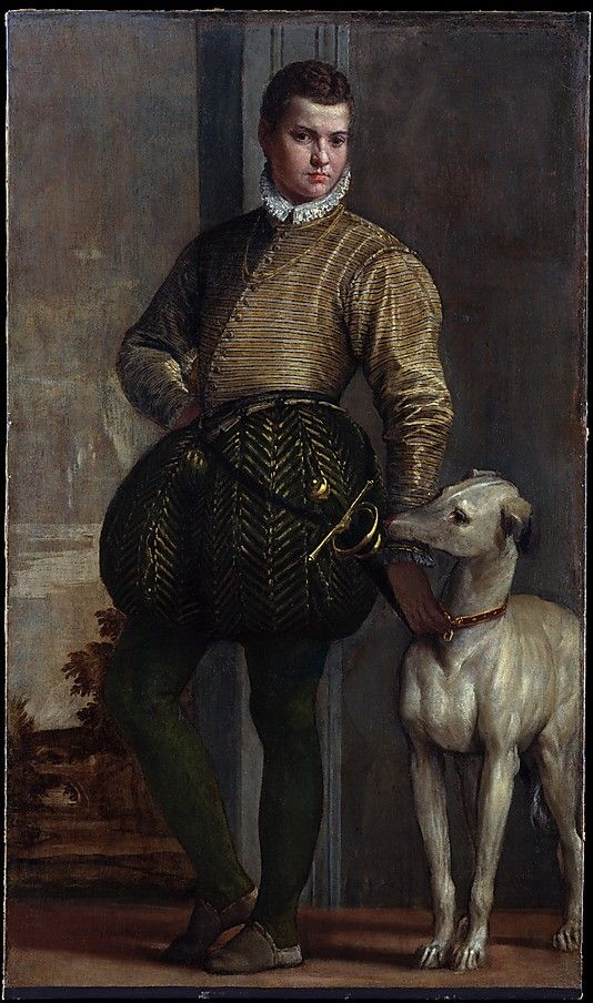 Boy with a Greyhound  Paolo Veronese (Paolo Caliari) (Italian, Verona 1528–1588 Venice)