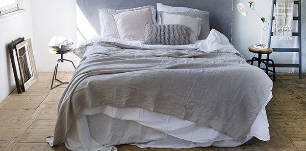 Passion for Linen 100 % stonewashed linnen lakens
