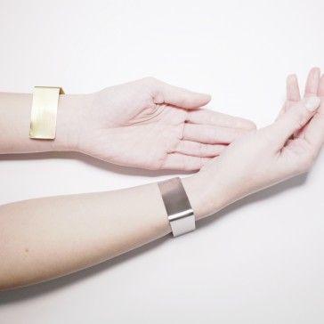 Silver & gold bracelets by Pola Zag