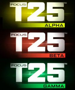 Focus T25 Workout Schedule.  Alpha Phase, Beta Phase, Gamma Phase.  To learn more check out the website link below.