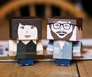 Personalized Cardboard Avatar $12