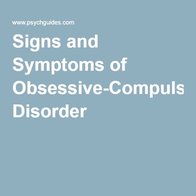 the nature and treatment of obsessive compulsive disorder Ocd: nature, nurture and treatment dr adam pearson approved proventherapist obsessive compulsive disorder (ocd) can be a debilitating disease in which a person.