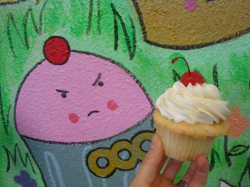 sailor jerry's pina colada cupcake from trophy cupcakes