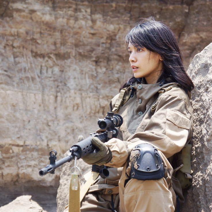 airsoft girl, girls army, sniper woman, milsim operator, gun & girl, semarang skirmish team, svdragunov, gorka suit, airsoft international, cosplay girl, brown canyon semarang, icha swan, russian sniper
