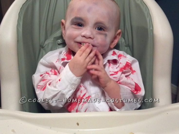 Coolest Zombie Toddler Homemade Halloween Costume Idea ...This website is the Pinterest of Halloween costumes for kids