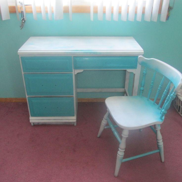 repainted desk